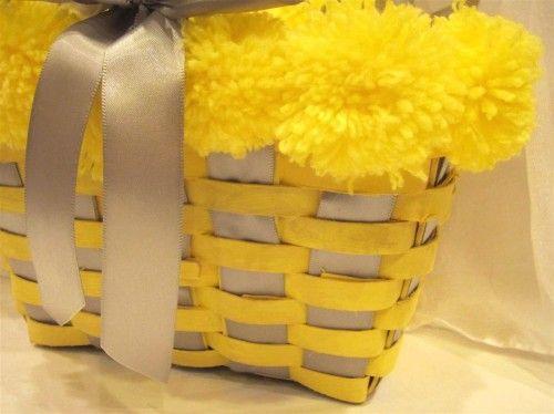 custom flower girl basket