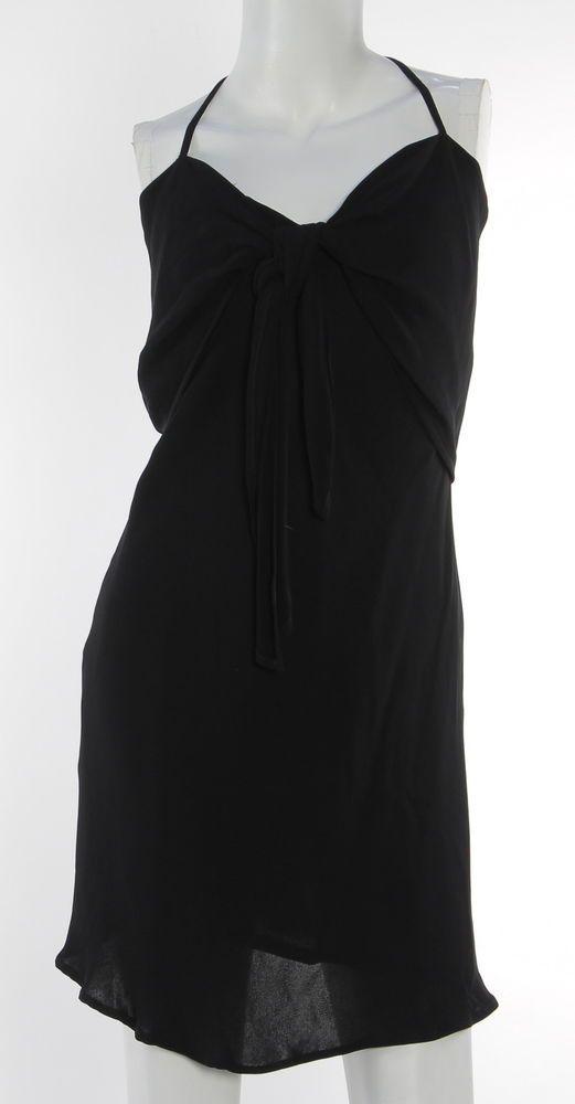 Women's GIORGIO ARMANI Black Knee-Length 1 Piece Size 42/8  | eBay