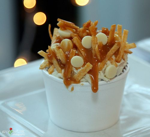 poutine cupcakes. maybe for canada day :)