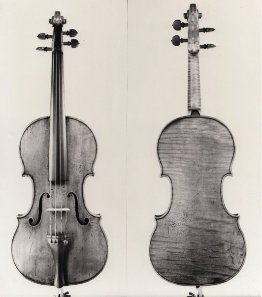 "The ""Nachez"" violin, made by Antonius Stradivarius, 1686."