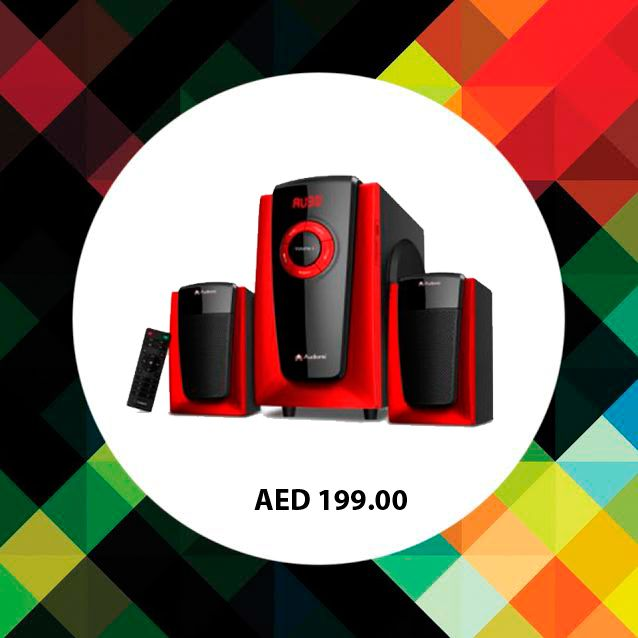 Audionic Vision 8 2.1 Channel Speaker. #Speakers #audionic #musicsystems #online #shopping #electronics #music #ChannelSpeakers