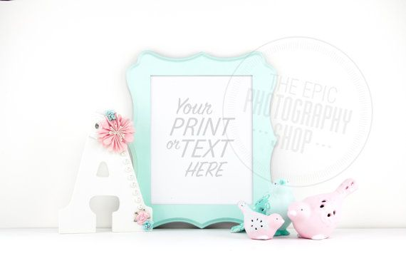 Print Background / Blank Frame / Styled Stock Photography / Product Photography / Staged Photography / Product Background / GR014