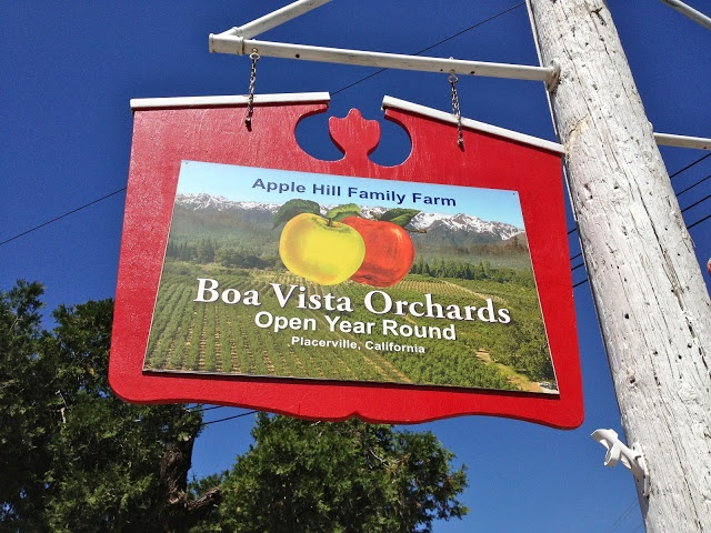 Boa Vista Orchards El Dorado Wine Country Spaswinefood