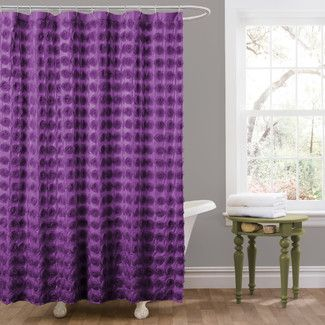 Lila Shower Curtain