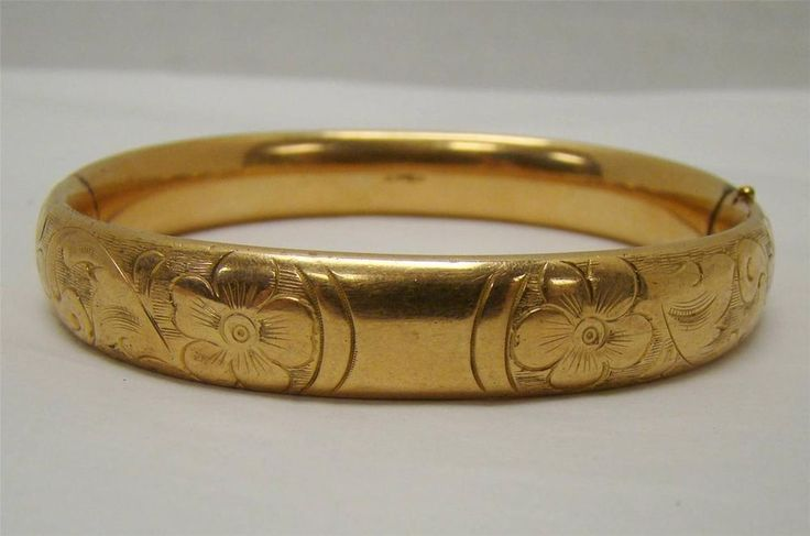 A C Co Marked Gold Filled 1 20 Victorian Edwardian Hinged