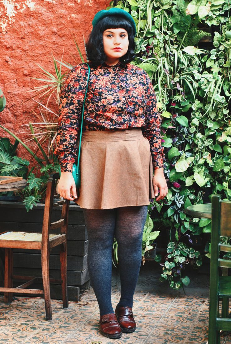 Plus size fashion with a side of vintage