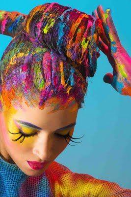 rainbow -colour shades to inspire art, design or new fused glass goodies at Latch Farm Studios www.latchfarmstudios.co.uk