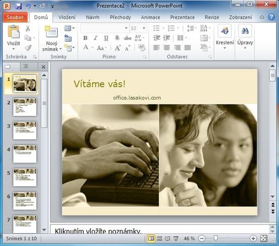 MS Outlook 2010 - Zpráva