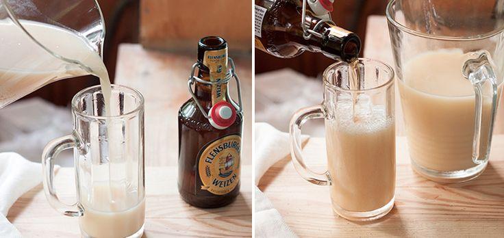 Коктейль с пивом Bananenweizen   Пиволюбы [Блог о пиве]