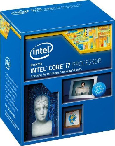 Intel Core i7 i7-4790K CPU (Quad Core 4GHz, Socket H3 LGA-1150)