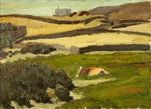 Nikolaos Lytras, The Meadow (Tinos)