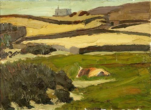 Nikolaos Lytras, The Meadow (Tinos)