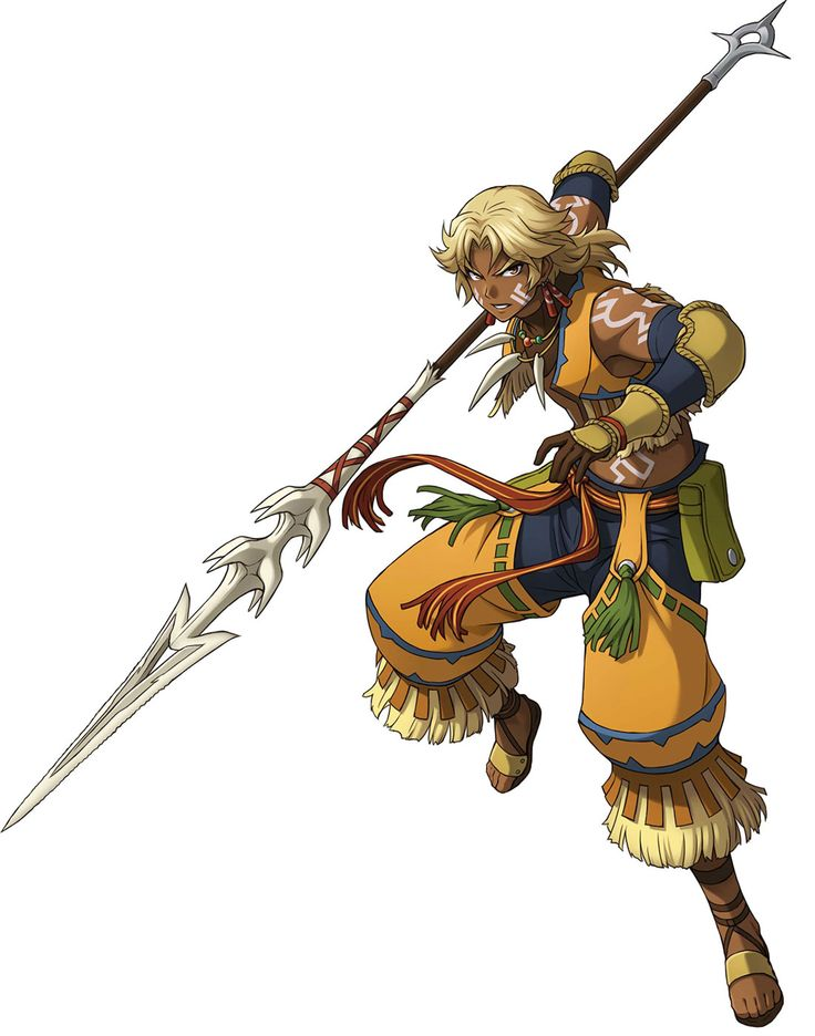 ✧ #characterconcepts ✧ Ozma from Ys: Memories of Celceta