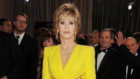 Jane Fonda Not Amused By Seth MacFarlane's 'Boobs' Oscars Song  ABC news March 1, 2013