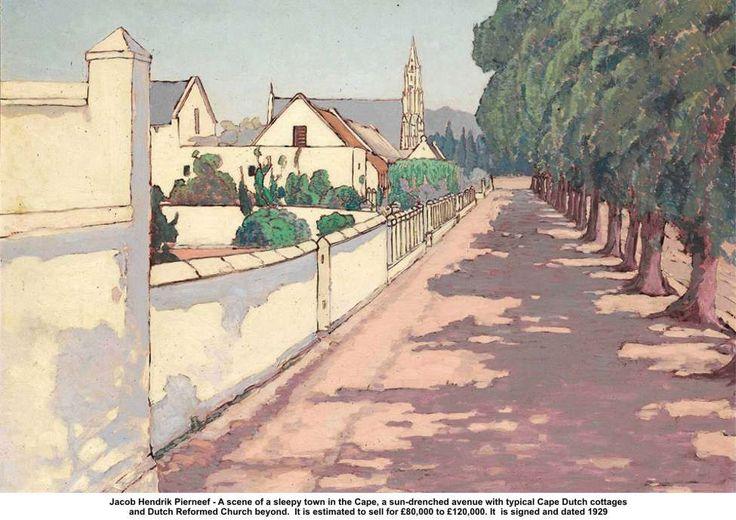 Jacob Hendrik Pierneef. South Africa. 1929.