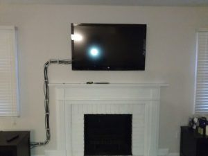 Wall Mounted Tv Cord Hider