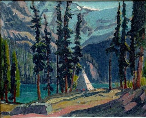 J E H MacDonald painting