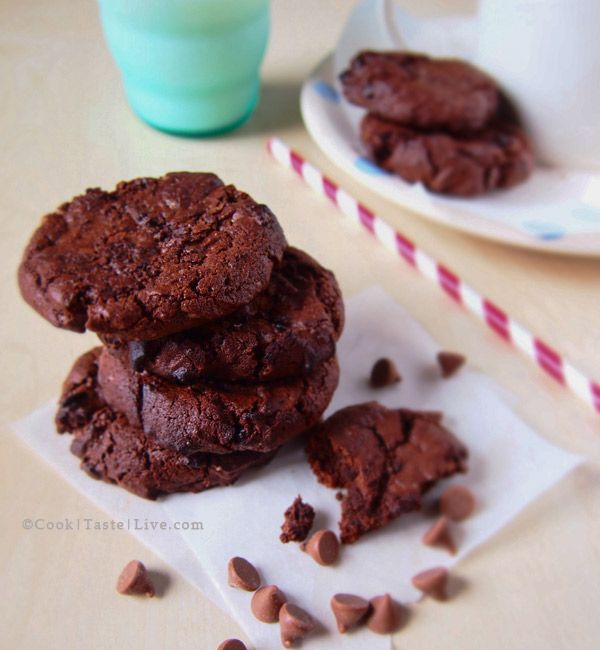 nigellas double chocolate chip cookie