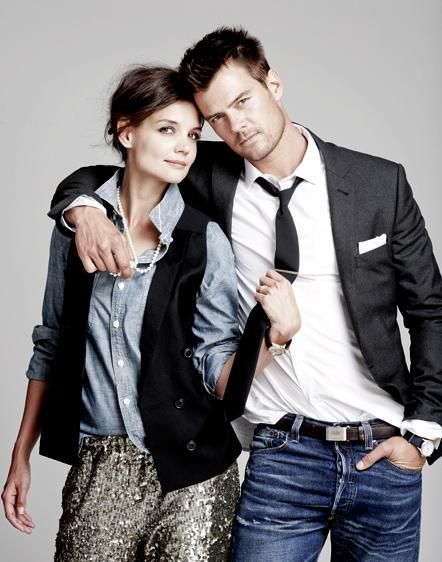 katie and josh - love the styling