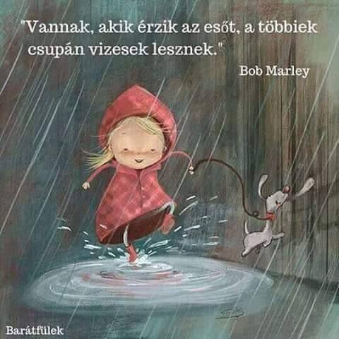 vannak akik érzik az esőt