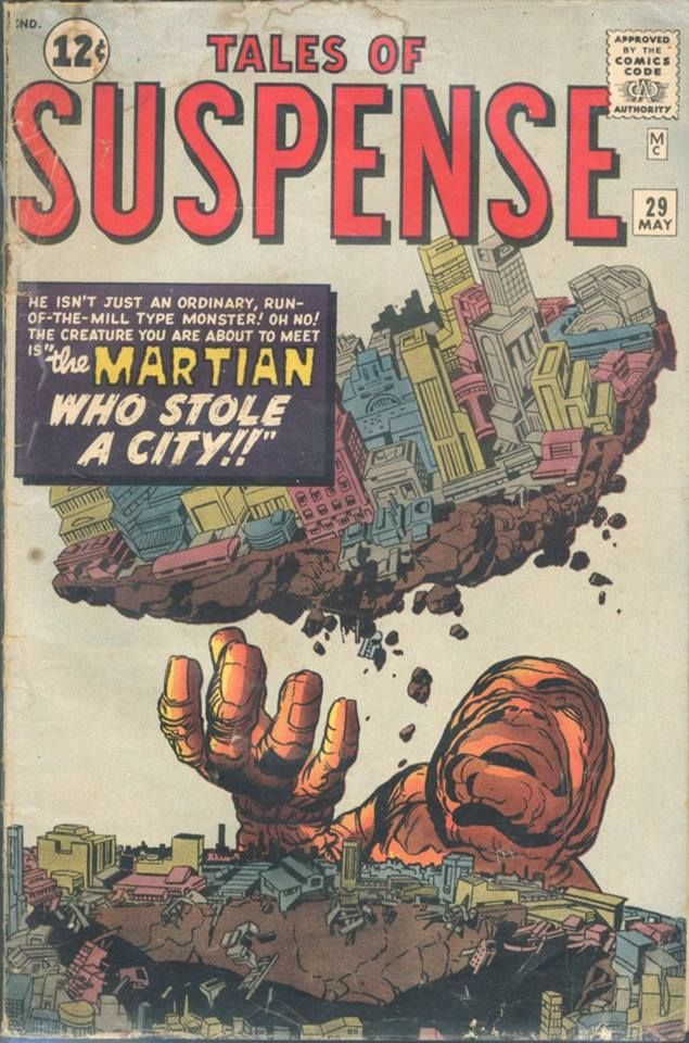 Tales of Suspense 188 best Where Monsters