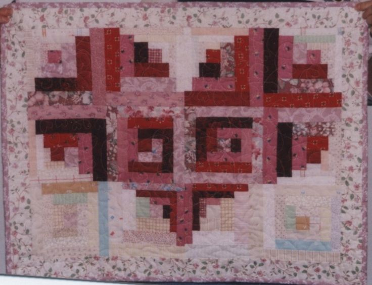 Pattern For Log Cabin Heart Quilt : Tutorial: log cabin heart quilt General Quilting info Pinterest Log cabins, Cabin and Logs