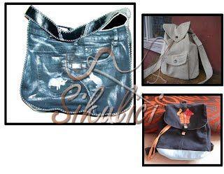 Odkazy na střih kabelky, peněženky, tašky