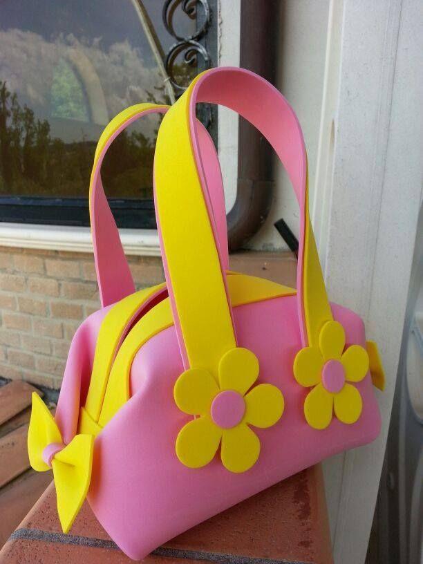 idea for foam bag ♥