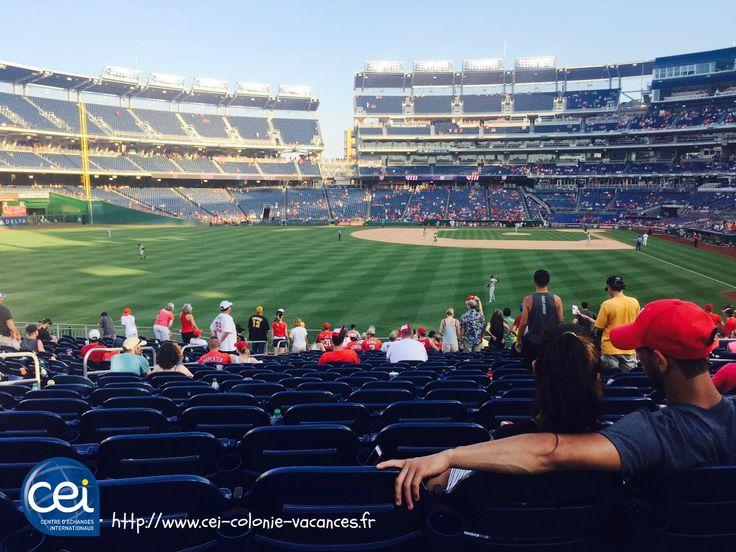 Match de Baseball à New York. #CEIColonie #NewYork #USA #Baseball