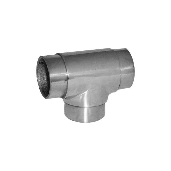"""FLUSH TEE FOR 1-1/2"""" DIAMETER TUBING @Signaturethings Brass Flush Tee 