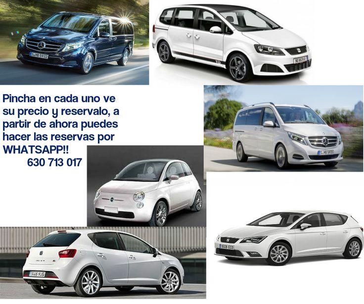 Imagen multimedia: Grupo M9, Vito o similar, 120+iva, día. , Grupo M7, 7 plazas, precios por vehículo.