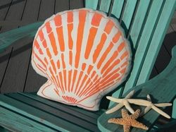Beach Themed Hand-Painted Indoor/Outdoor Pillows for Sale - Cottage & Bungalow