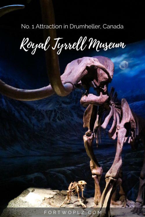 Travel Canada | Museum | Alberta | Drumheller | Dinosaur Fossils