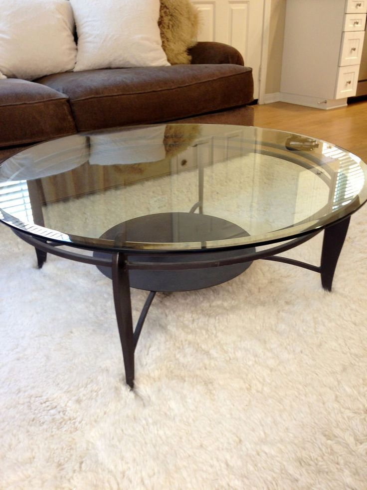Round Glass Coffee Table Z Gallerie West Elm Restoration Hardware Pottery Barn