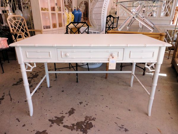 FAUX BAMBOO Desk By Thomasville For The Office :) | CIRCA WHO New Arrivals  | Pinterest | Faux Bamboo, Desks And Writing Desk