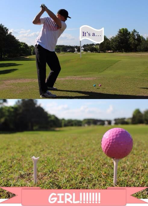 #genderreveal #gender #reveal #golf #baby #boy #girl   Gender reveal golf theme