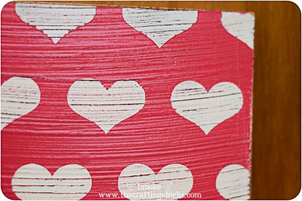 Poppy Seed Projects antiqued valentine plaques-3