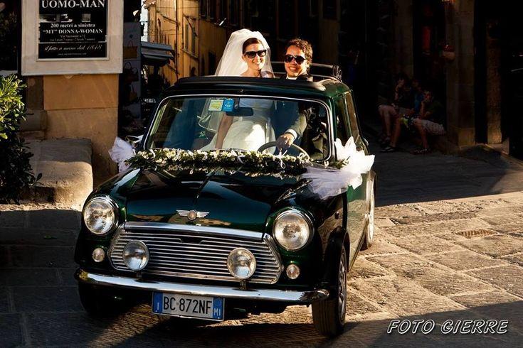 mini cooper wedding