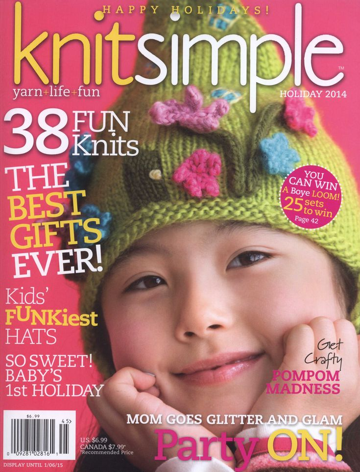 KNIT SIMPLE - HOLIDAY 2014, pages 1 of 73