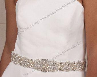 26 best Bridal Belts images on Pinterest   Wedding ribbons ...
