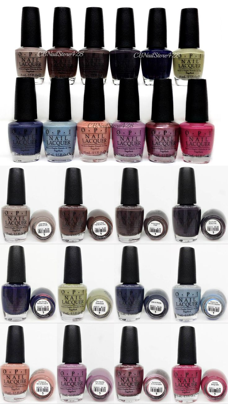 Nail Polish: Nail Lacquer - Opi Iceland Fall 2017 - All 12 Shades Nli53-I64 -> BUY IT NOW ONLY: $74.5 on eBay!
