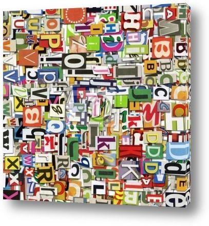 Постер Digital collage