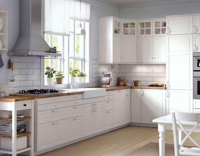 Küchen landhausstil ikea  27 besten Bodbyn Ikea kitchen Bilder auf Pinterest | Traumhaus ...