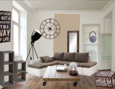 Tr s tendance la pi ce de la semaine on aime le style for Salon industriel cosy