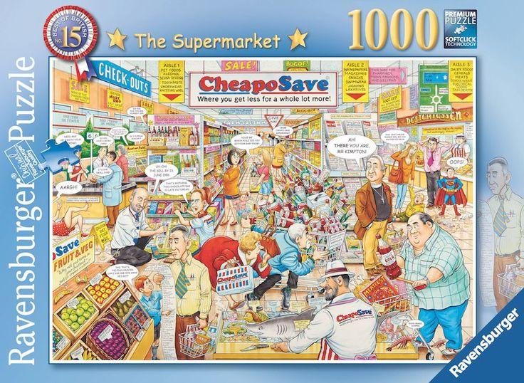 Ravensburger Puzzle 1000pc - British Supermarket