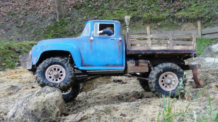 Full custom scale rc 4x4 truck | rc crawlers trail rigs ...