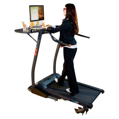 Exerpeutic 2000 Workfit Desk Station Electric Treadmill If i had one of these at home, i wouldn't feel guilty about spending so much time on the laptop and pinterest!! lol