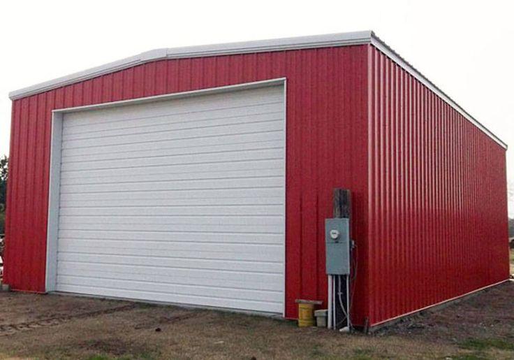 13 best garage buildings images on pinterest steel for Garage building prices