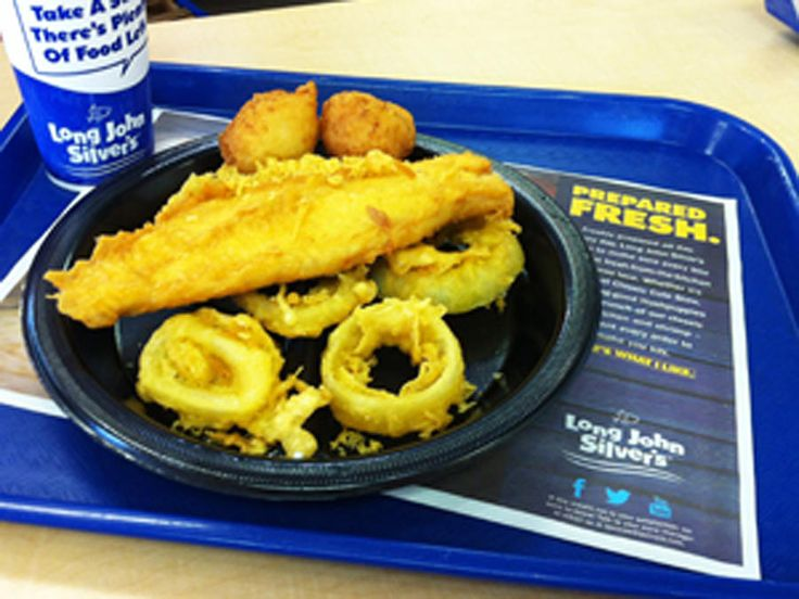 "Fast food has destroyed more men than fast women~Jim Murray.  Long John Silver's Big Catch named ""Worst Meal in America"""