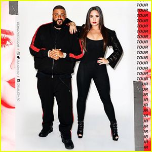 Demi Lovato Announces 2018 North American Tour With DJ Khaled – See the Dates!